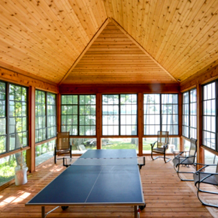 Sunroom Customized For Three Seasons